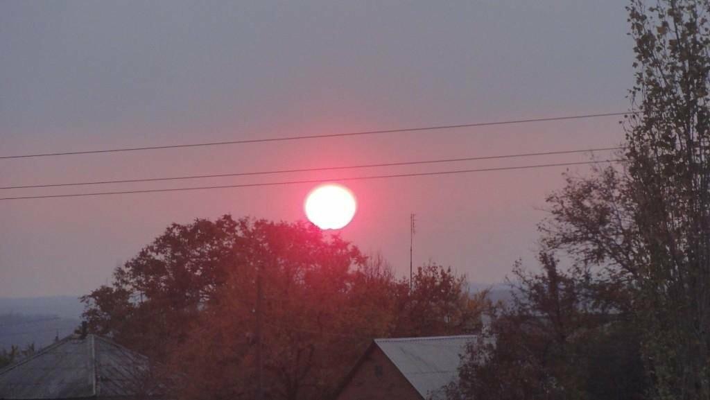 Радужные облака раскрасили небо над Новошахтинском , фото-4