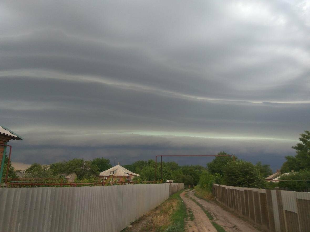 Радужные облака раскрасили небо над Новошахтинском , фото-8