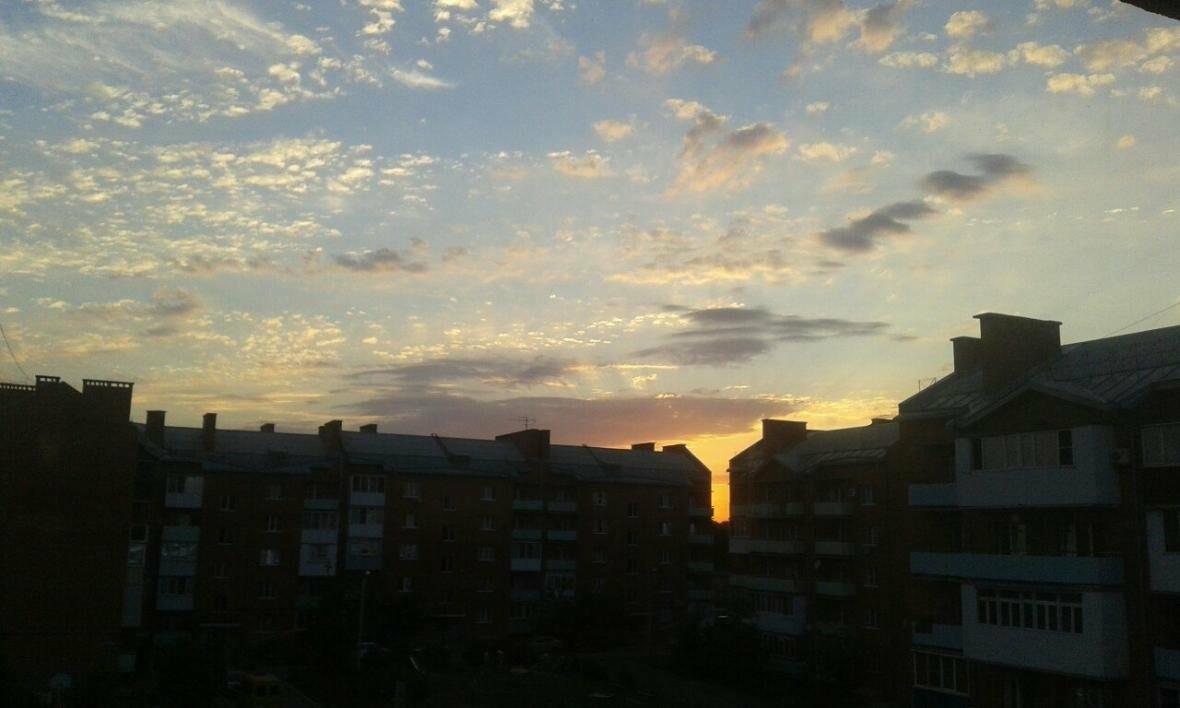 Радужные облака раскрасили небо над Новошахтинском , фото-2