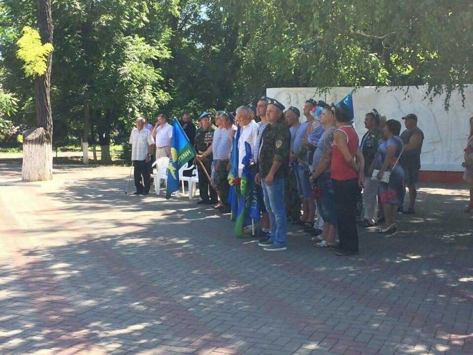 В Новошахтинске прошел митинг, посвященный Дню воздушно-десантных войск, фото-3