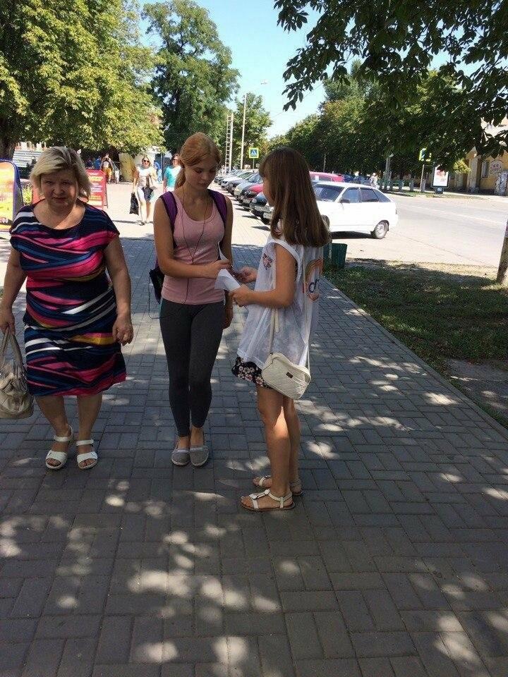 Водителям и пешеходам Новошахтинска вновь напомнили о правилах дорожного движения, фото-4