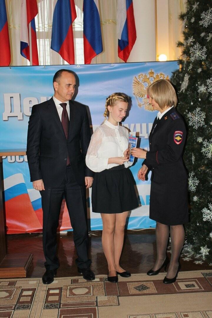 Юные новошахтинцы получили главный документ гражданина России, фото-2