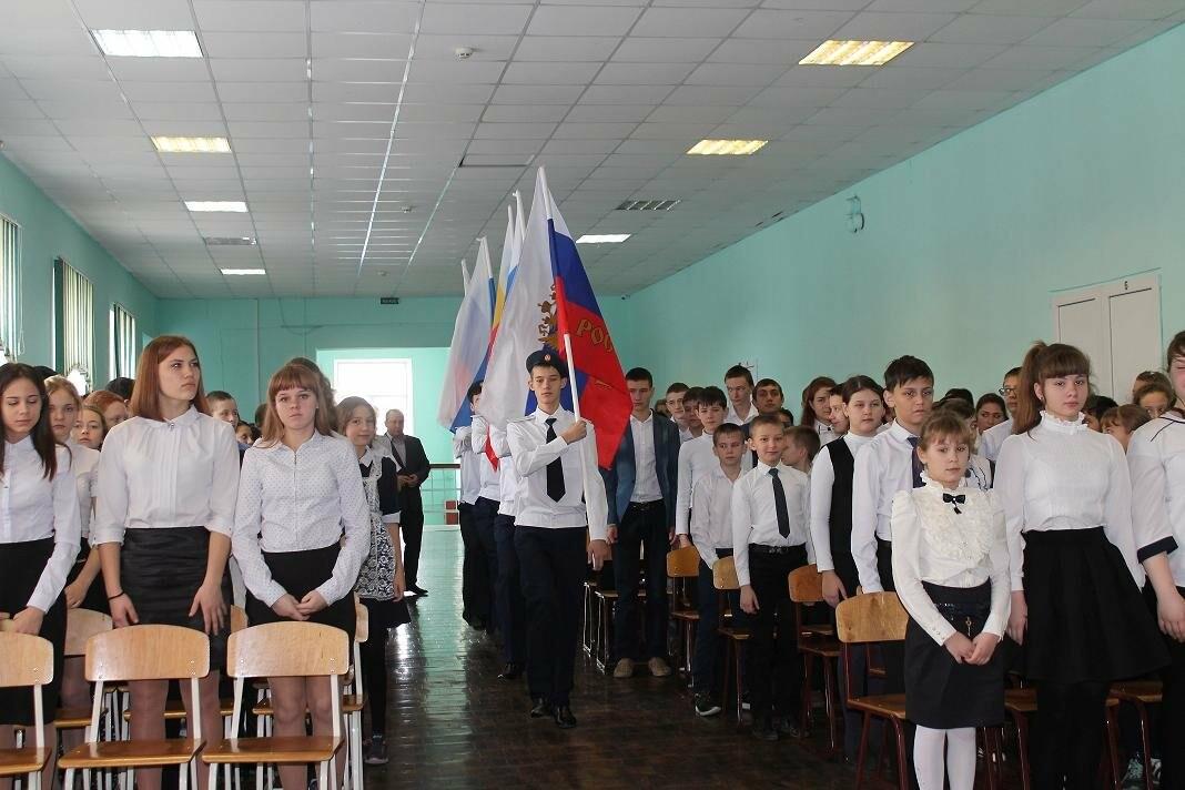Школьники Новошахтинска отметили День Героев Отечества, фото-1