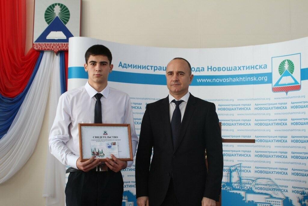 В Новошахтинске прошёл торжественный прием мэром города одаренных детей, фото-6