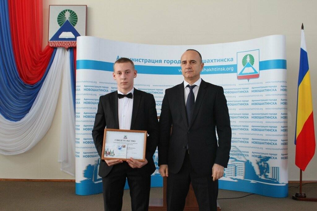 В Новошахтинске прошёл торжественный прием мэром города одаренных детей, фото-5