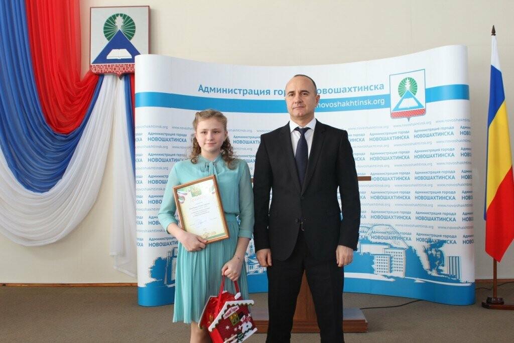 В Новошахтинске прошёл торжественный прием мэром города одаренных детей, фото-7