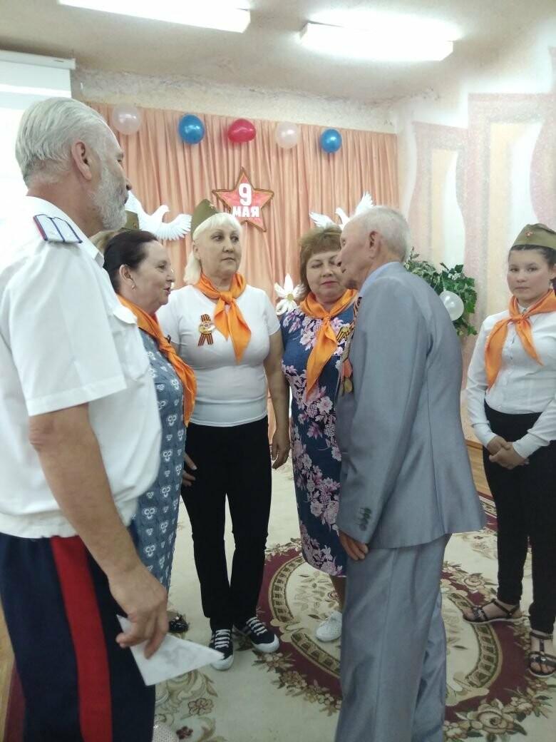 В СРЦ Новошахтинска  прошло праздничное мероприятие «Слава тебе, победитель солдат!, фото-3