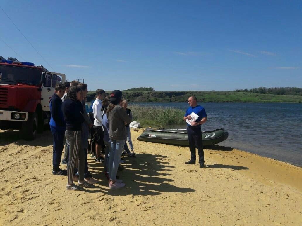 День безопасности на воде прошёл в Новошахтинске, фото-1