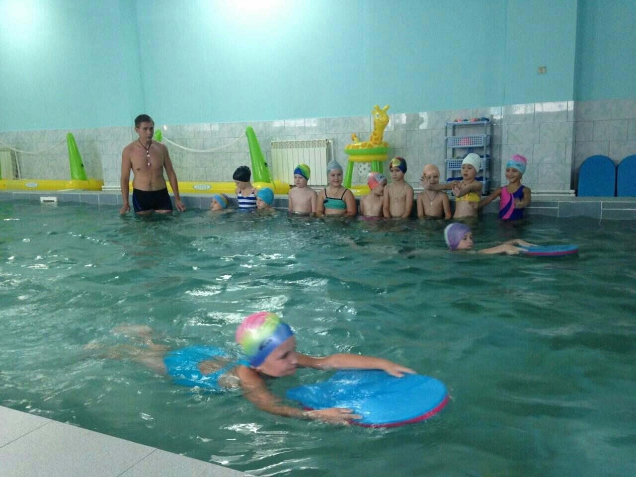 Детсадовцев Новошахтинска учили плавать, фото-1