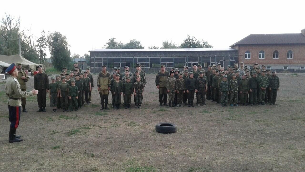 Новошахтинцы посетили казачий лагерь, фото-1