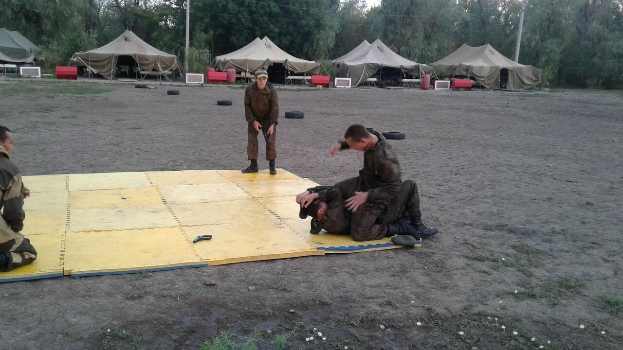 Новошахтинцы посетили казачий лагерь, фото-2