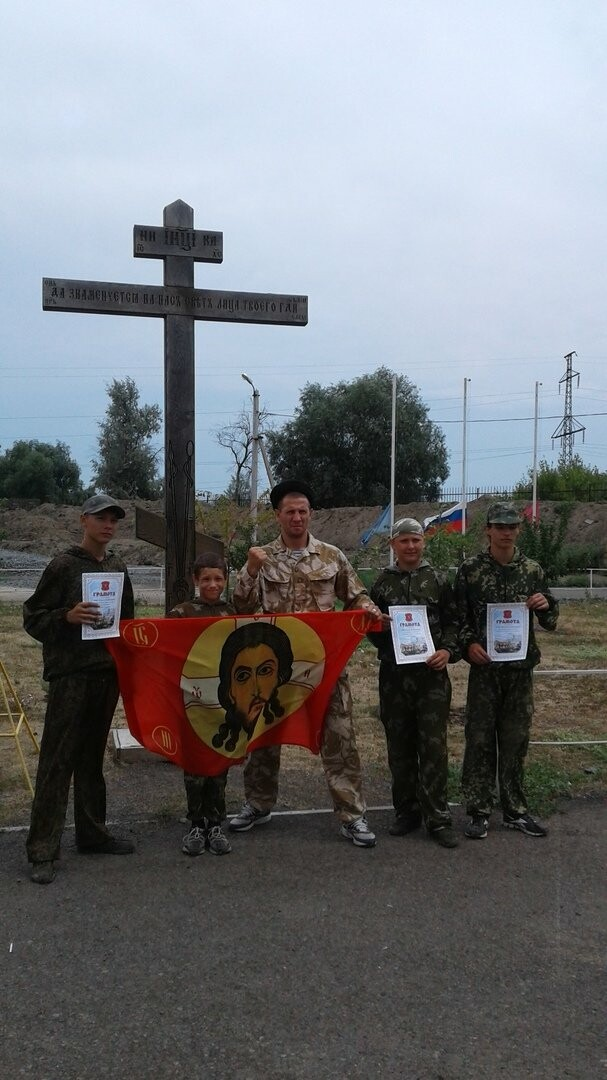 Новошахтинцы посетили казачий лагерь, фото-3