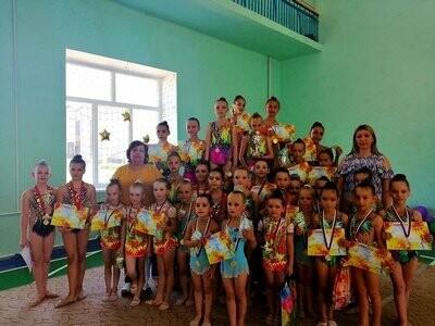 Новошахтинские гимнастки завоевали более 20 медалей , фото-1