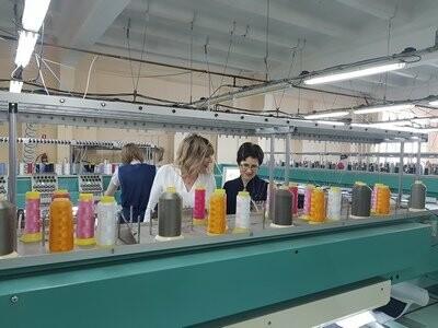 Сотрудники администрации Новошахтинска посетили корпорацию «Глория Джинс», фото-1