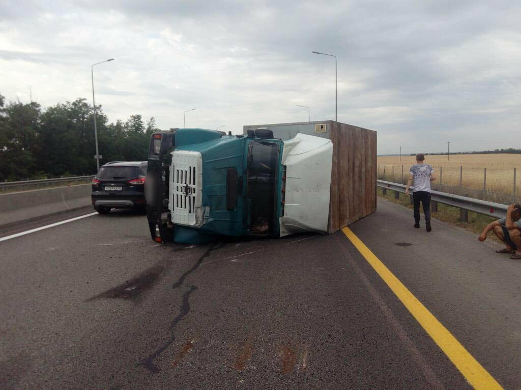 Четыре человека пострадали в аварии на трассе М-4 «Дон», фото-1
