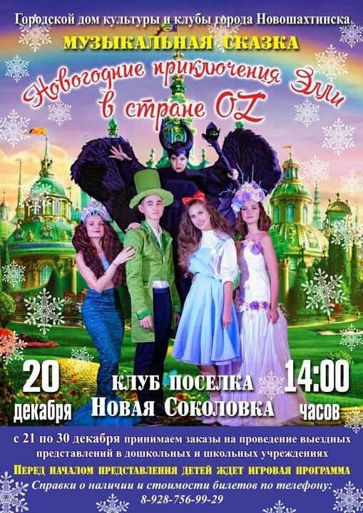 Жителей Новошахтинска приглашают на новогоднее представление , фото-1