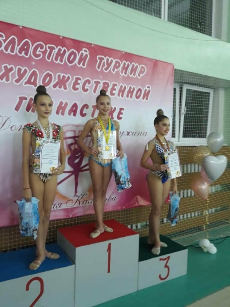 Гимнастки из Новошахтинска привезли награды, фото-1