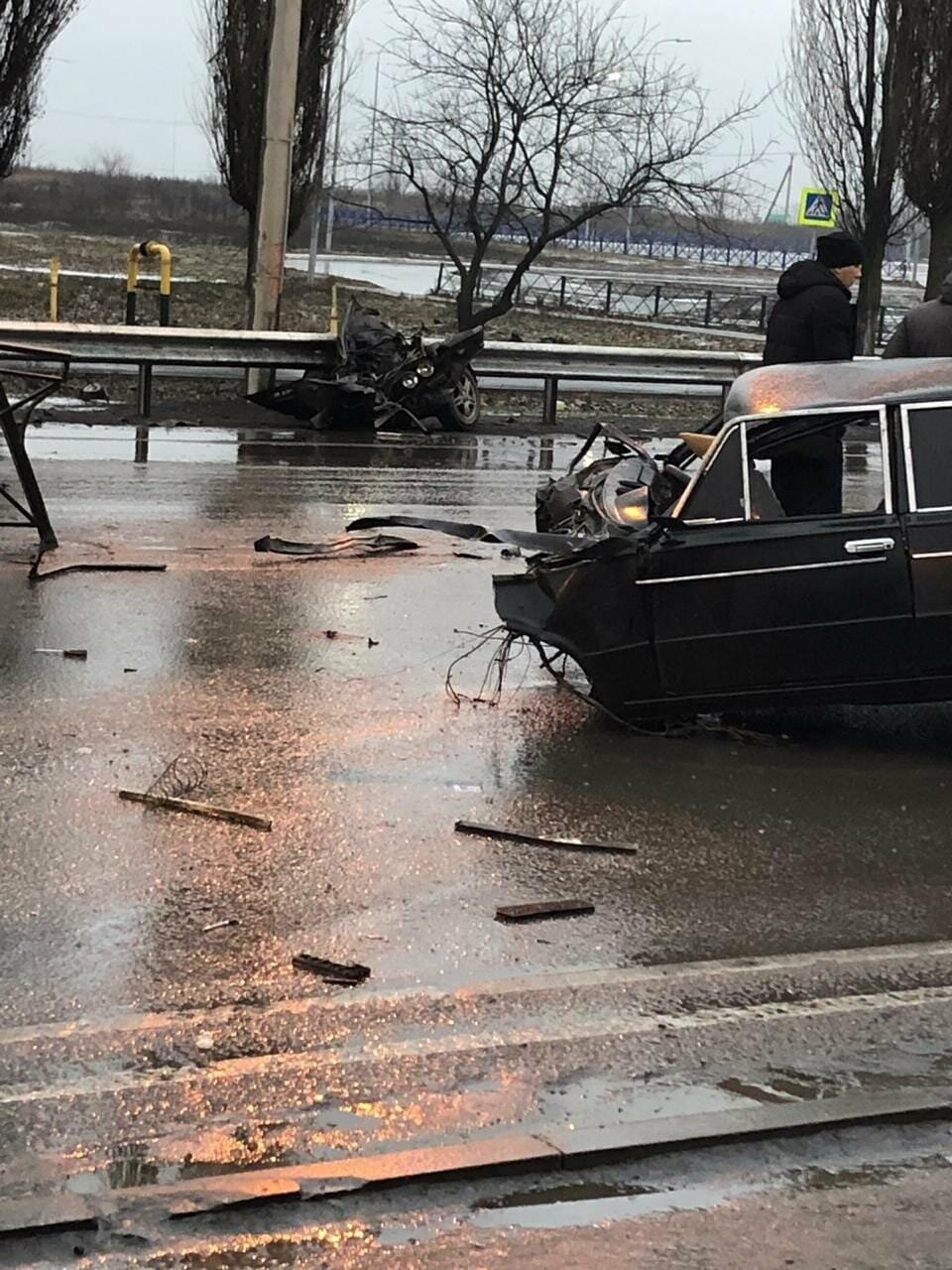 В Новошахтинске в страшной аварии погиб мастер спорта России по вольной борьбе, фото-1