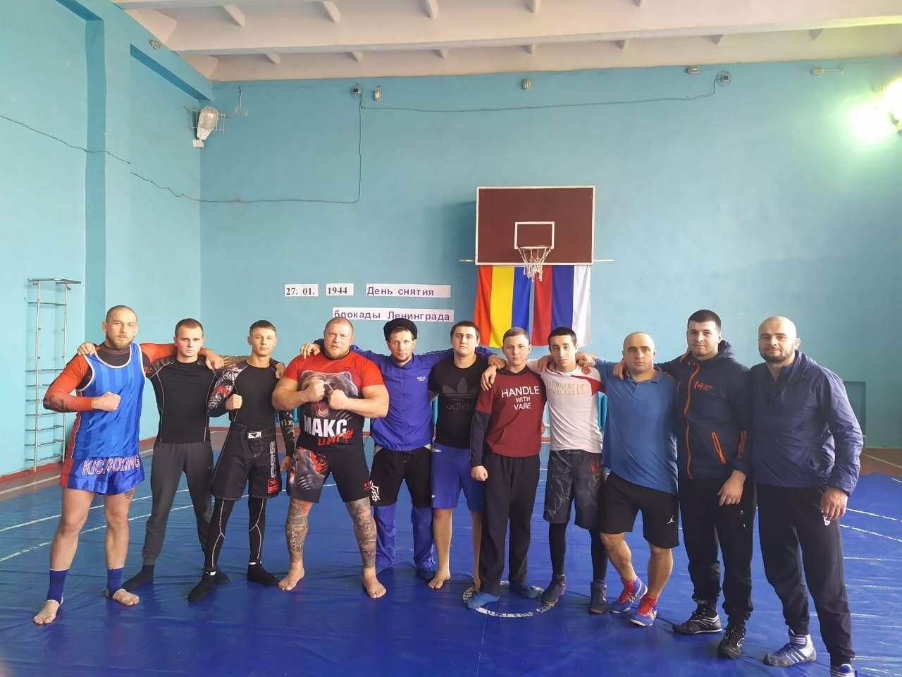 Новошахтинск посетил чемпион Европы по боевому самбо, фото-3
