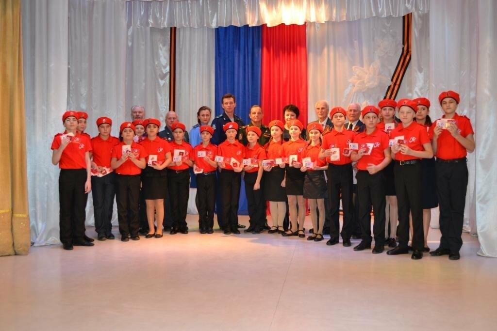 35 новошахтинских школьников вступили в ряды юнармейских отрядов, фото-2