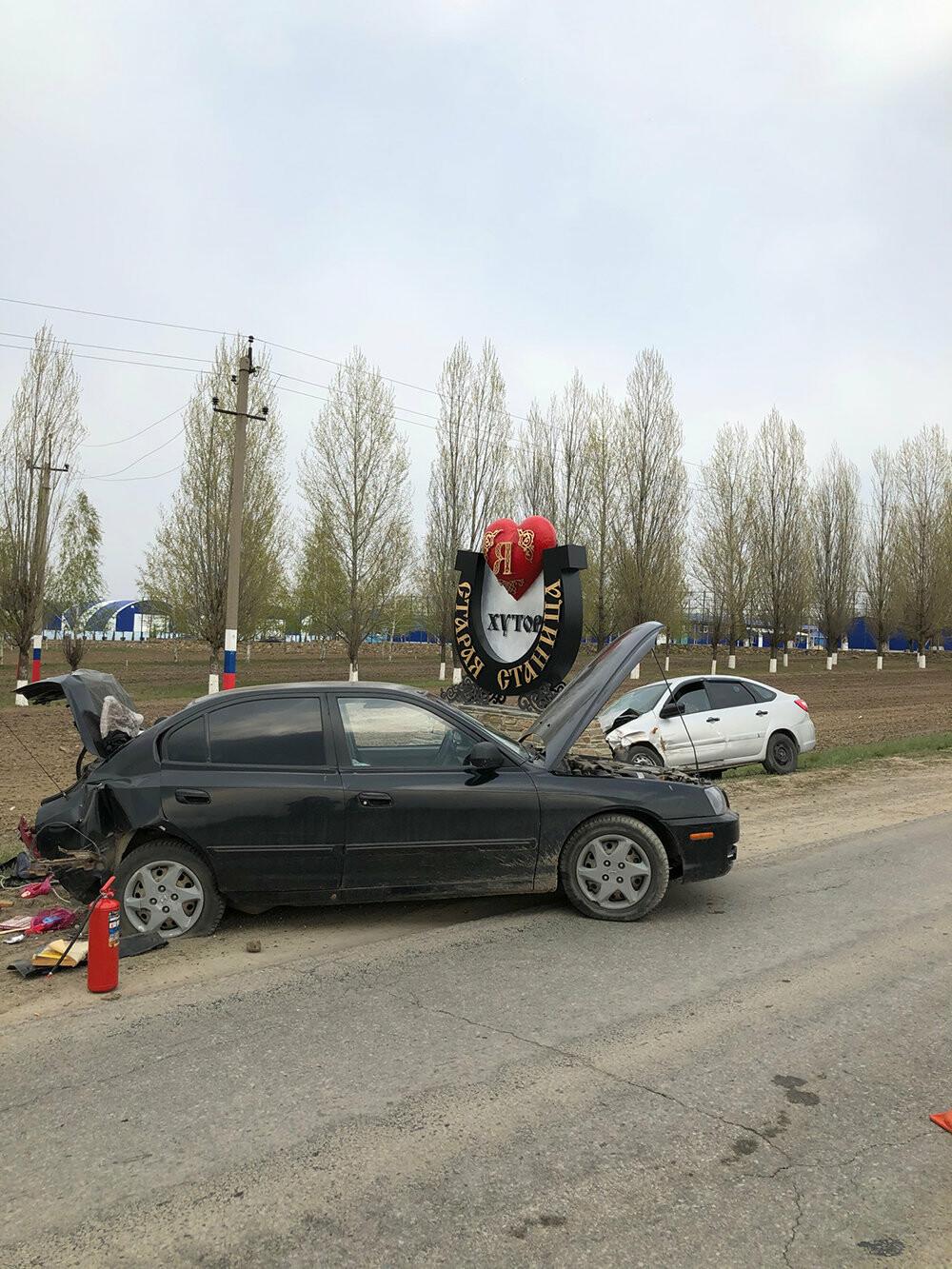 На Дону произошла массовая авария, фото-1