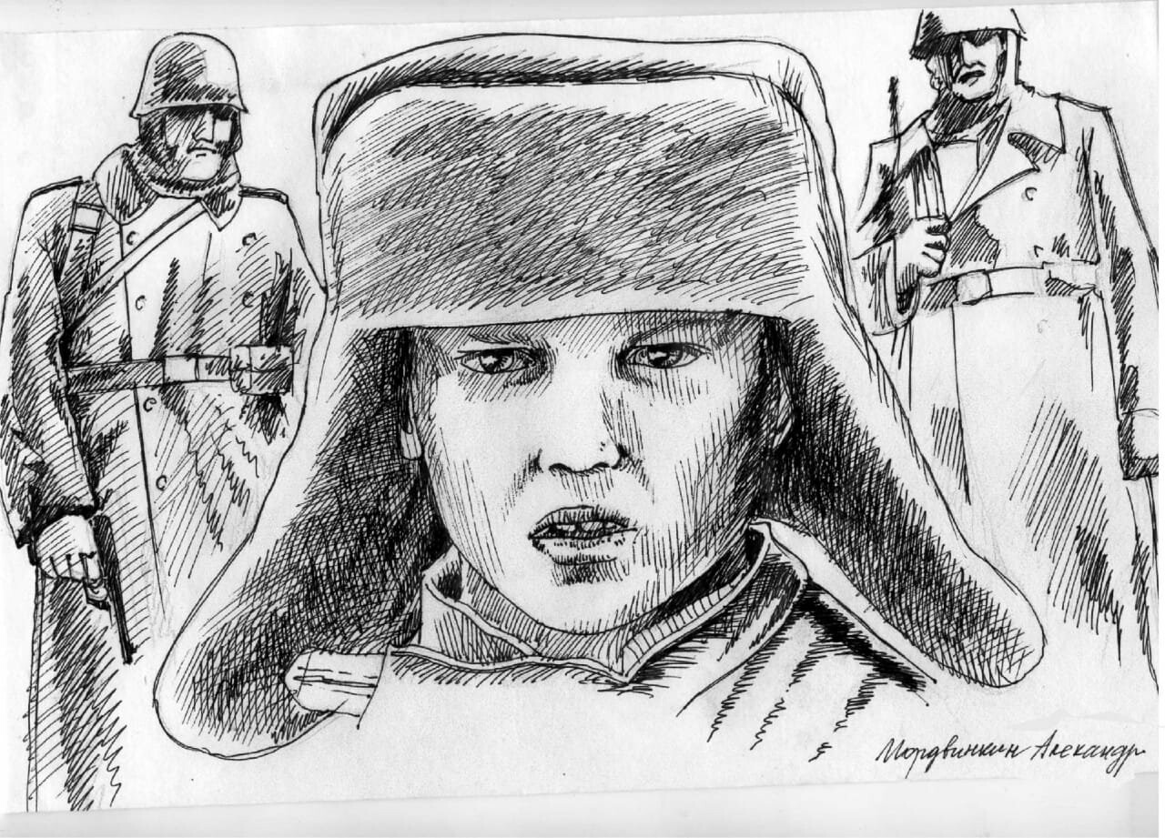 Юные новошахтинцы изобразили военное детство, фото-3