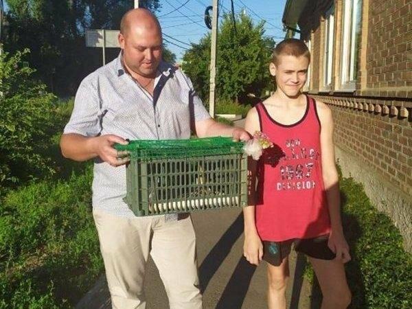 Донская семья спасла необычную птицу - выпь, фото-1