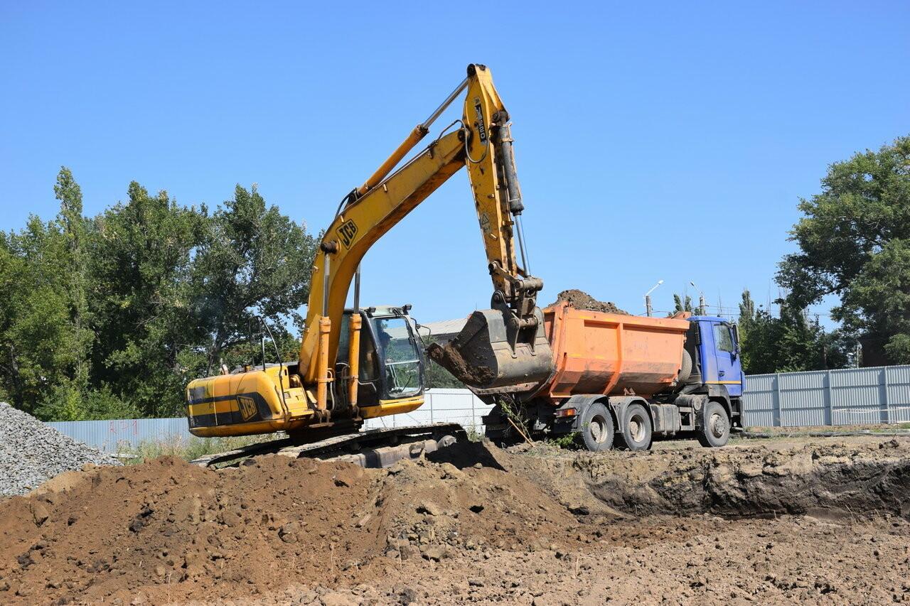 Строительство ледового дворца в Новошахтинске находится под контролем главы города , фото-1