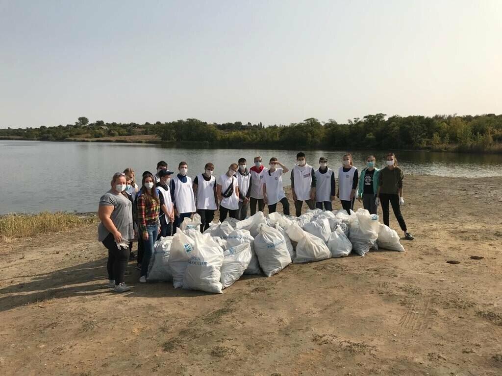 Волонтеры убрали за новошахтинцами 46 мешков мусора, фото-3