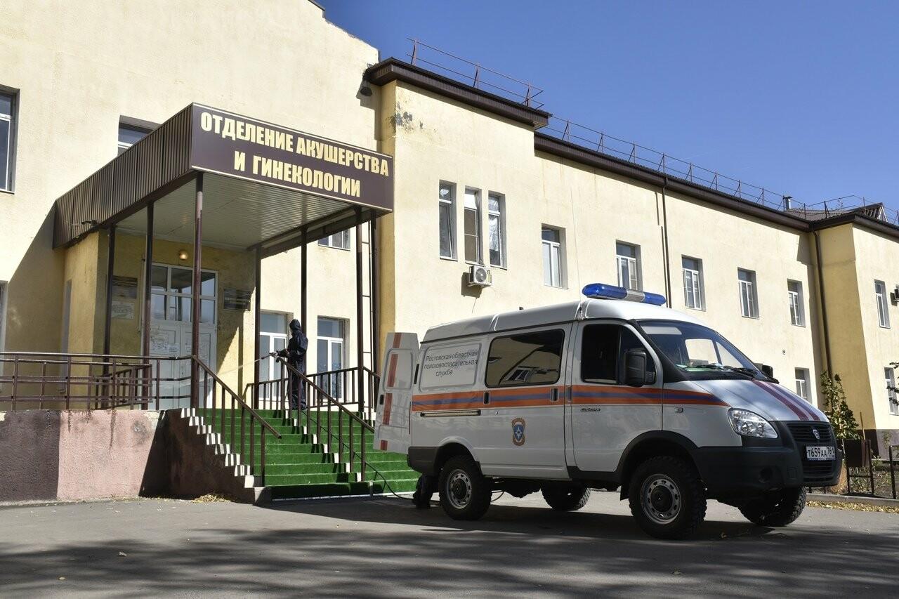 В Новошахтинске областные спасатели продезинфицировали медучреждения, фото-2