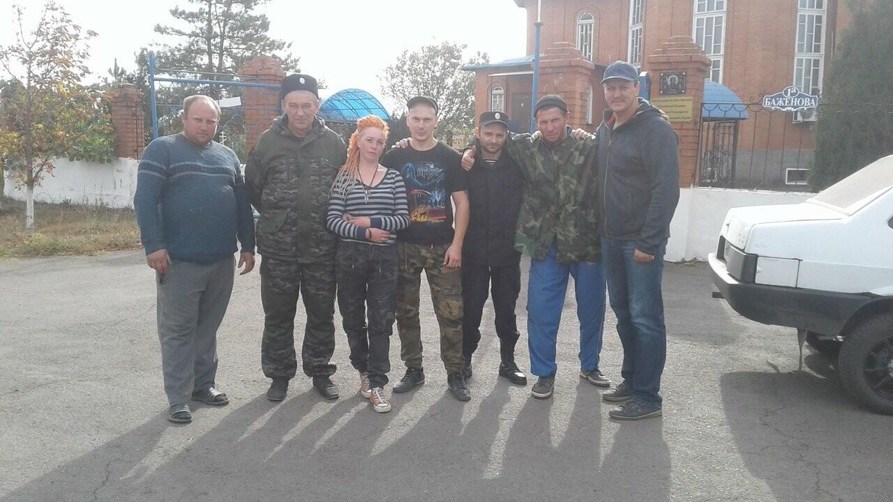 Новошахтинцы очистили захоронения казаков , фото-1