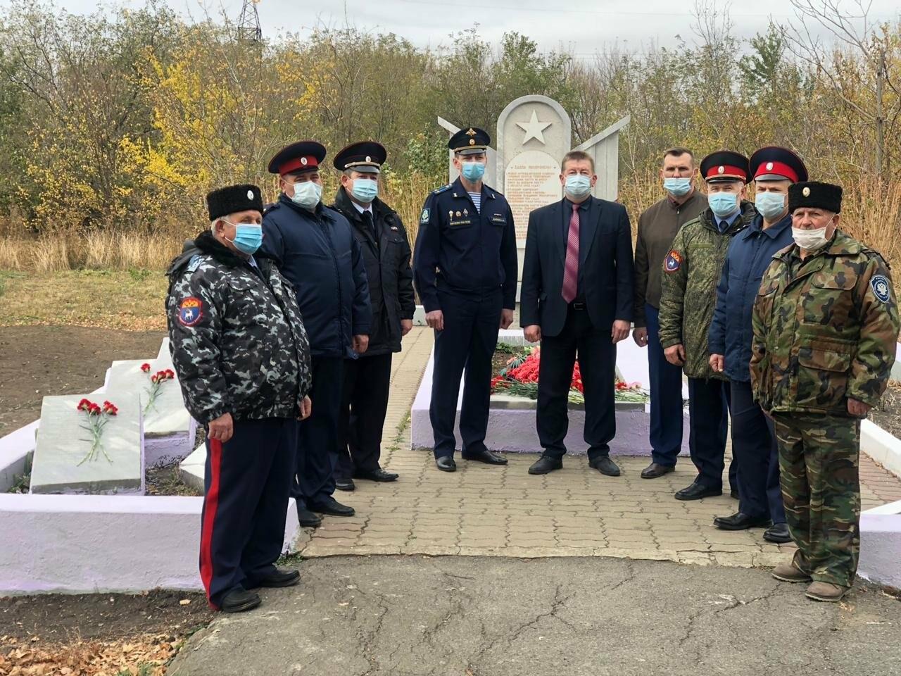 В Новошахтинске открыли памятник воинам Великой Отечественной Войны, фото-1
