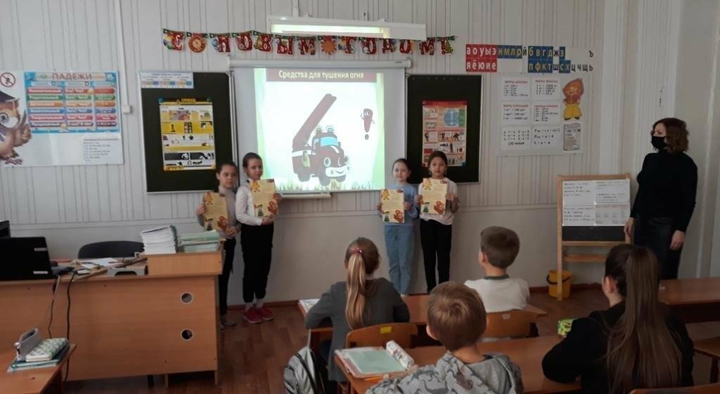 Дружины юных пожарных проводят предупредительную работу в Новошахтинске , фото-1