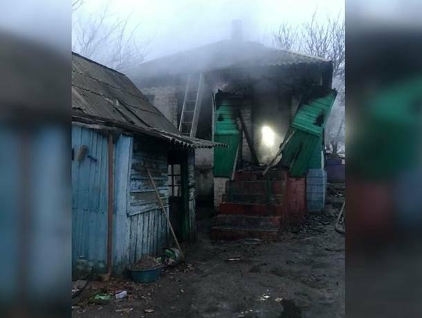 Дончанка сбежала из горящего дома, забыв про маленьких детей, фото-1