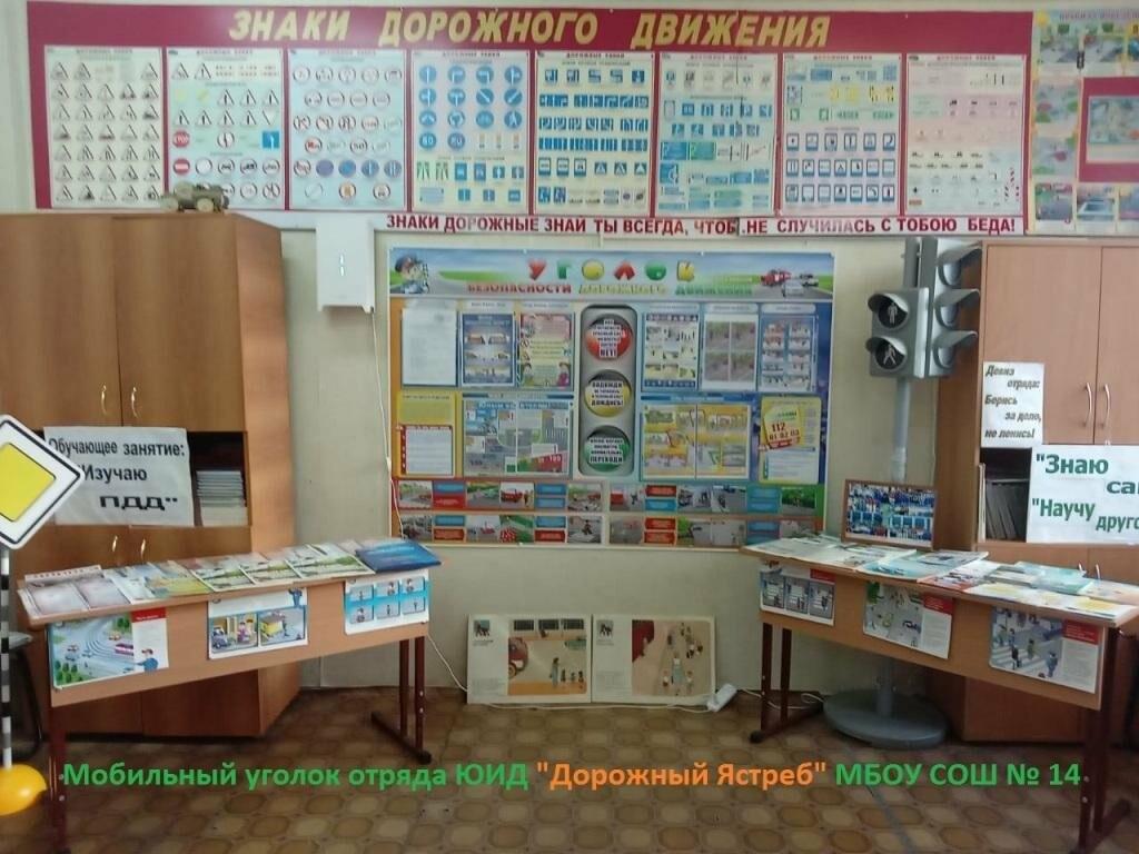 Среди школ Новошахтинска прошёл конкурс мобильных уголков ЮИД, фото-1