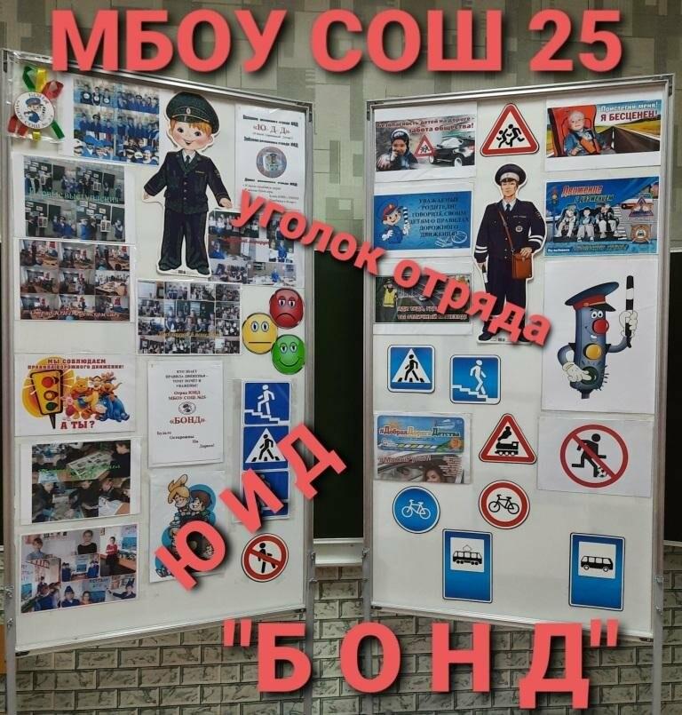 Среди школ Новошахтинска прошёл конкурс мобильных уголков ЮИД, фото-4