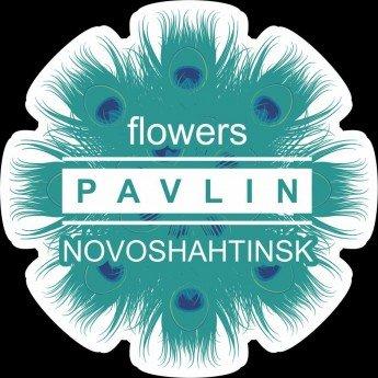 Логотип - Павлин - сеть флористических салонов в Новошахтинске