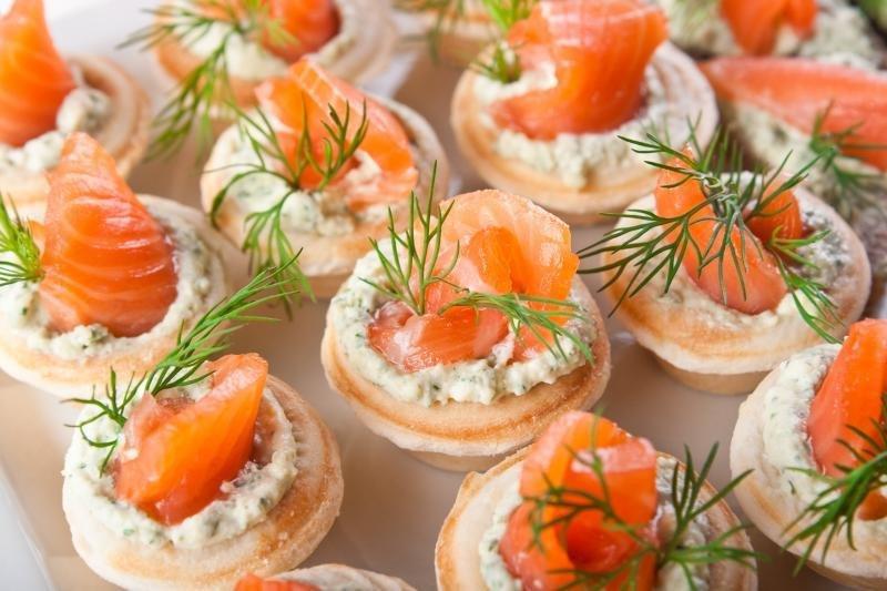 Вкусные и красивые праздничные закуски рецепты