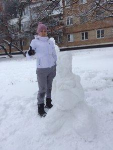 Молодая мама из Новошахтинска сотворила снежный шедевр , фото-4