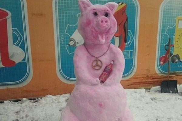 Молодая мама из Новошахтинска сотворила снежный шедевр , фото-2