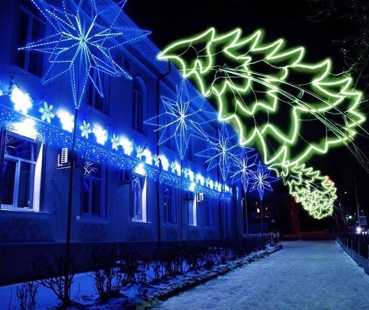 Новошахтинск преобразился к новогодним праздникам , фото-6